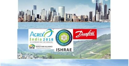Danfoss India recently held the ACREX- Hall of Fame energy efficiency drive at The Park, Hyderabad, to honor excellence achieved in conserving energy by building projects in India.