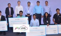 Godrej LOUD 2017 - Winners with the Judges
