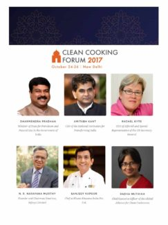 The Forum will feature an interactive exhibition area where attendees can demo and test some of the latest developments in clean cookstoves and fuels, including innovative technologies that allow consumers to order and pay for cooking gas on their mobile phones.