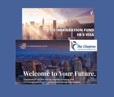 The Chopras Group, U.S. Immigration Fund Aim to Raise USD 125mn by 2018 from India for Investments in US