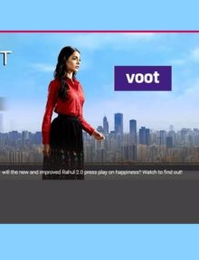 This latest VOOT Original comes on the back of several successful hits from VOOT including - 'It's Not That Simple', 'Shaadi Boys', 'Untag', 'Yo Ke Hua Bro' and the recently released 'Stupid Man Smart Phone'.