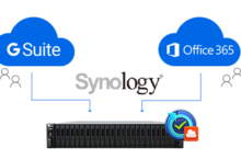 Synology: G Suite/Office 365 Active Backup