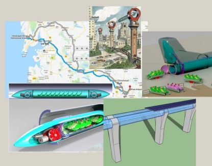 Mumbai-Pune Hyperloop Technology Redefines Speed with Reinvention in Transportation