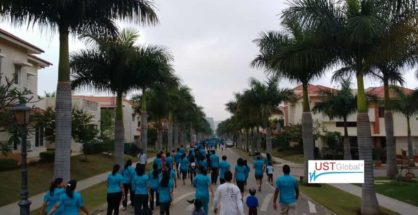 UST Global has partnered with Adarsh Palm Retreat (APR) Charitable Trust for its annual APR Marathon 2017. Held on December 3, the event has raised Rs. 50 lakh.