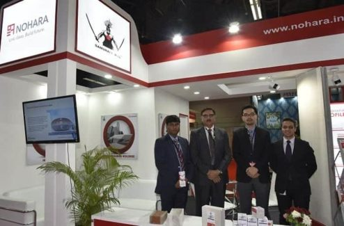 Nohara India team at Acetech Delhi 2017