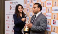 Ajay Nahar, Partner - Nahar Group, Chairman & MD - Nahar Projectsat the3rd Estrade Conclave and Awards 2017 in Singapore