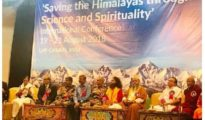 Saving Himalayas through Science and Spirituality Conference
