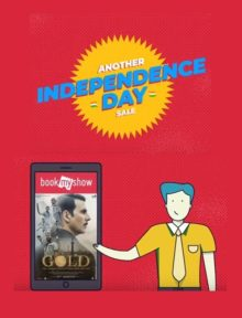 Check out BookMyShow's 'GOLD'en Independence Day celebrations with their newest digital ad film