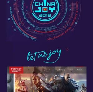 Perfect World's 18 products on display consisted of e-sports titles including DOTA2 and CS:GO; mobile games including the Return of the Condor Heroes II, The Legendary Swordsman, Albireo, Perfect World, Legend of Fox Spirit, Lost Realm, Fire Like The Song and Samsara