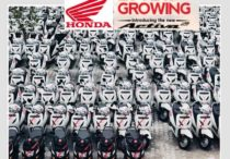 The fleet of 3,000 Honda vehicles at Drivezy HQ (Whitefield)