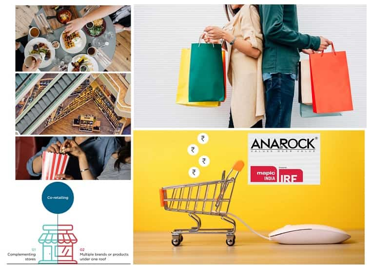 E-commerce, the main competitor to physical retail is growing rapidly and is expected to crossUSD 100 billion of value by 2020