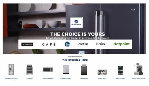 """GE Appliances, a Haier company, creates """"good things, for life"""" through our passion for great appliances and the happiness they can bring to every household. With the Hotpoint, GE®, Haier, Café™, GE Profile™ and Monogram® brands, owners have more choices for making their kitchens and homes amazing each day."""