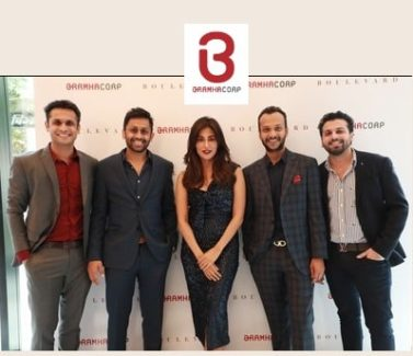 Chitrangada Singh and the BramhaCorp Group of Directors at the launch of BramhaCorp Boulevard