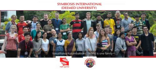 Symbiosis International (Deemed University) is nestled on a beautiful 300 acre campus, the Symbiosis Knowledge Village, on the outskirts of the city of Pune in Maharashtra, India. The University provides 23 programmers offered by the 15 universities under it.