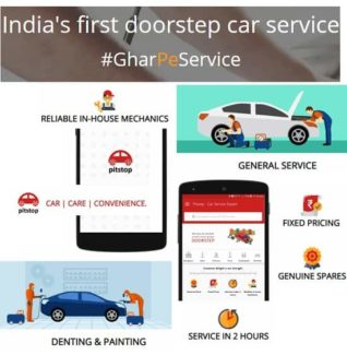Pitstop Launched in 2015, Pitstop India's first independent doorstep car service & repairs provider. Pitstop offers a one-stop-shop solution to all the General and Specialized car service & repair needs.