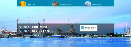KPTL is one of the largest and fastest growing specialized EPC companies in India engaged in power transmission & distribution. (BSE:522287)(NSE:KALPATPOWR)