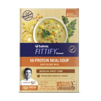 Saffola Fittify - HI Protein Meal Soup - Mexican Sweet Corn_1