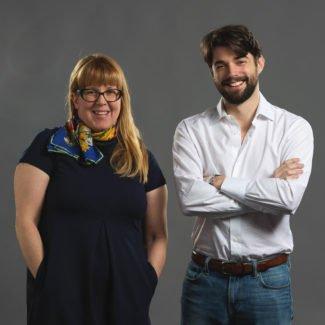 Ellen Zaleski  & Thomas Minc