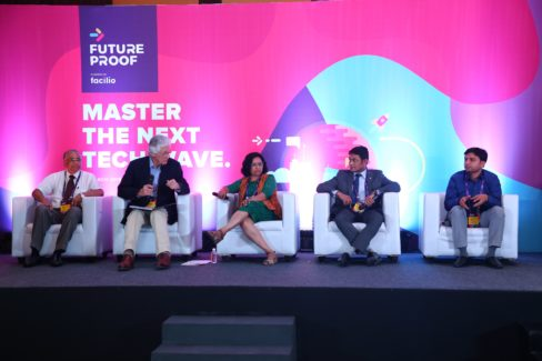 Panelists at the FutureProof conclave powered by Facilio