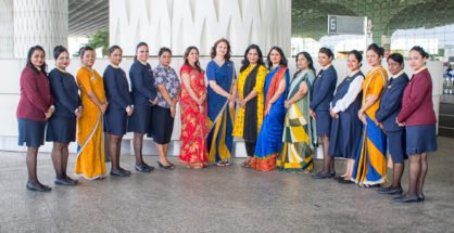 Jet Airways all Women Crew
