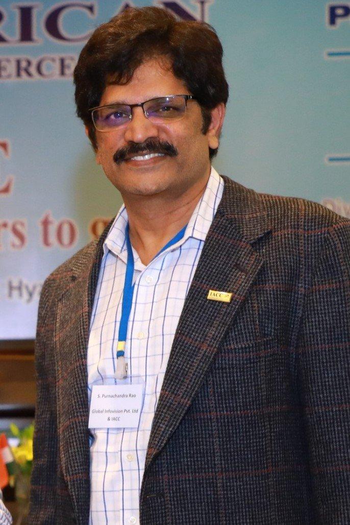 The Newly Elected IACC National President, Purnachandra Rao Surapaneni